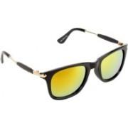 Rich Club Aviator, Sports, Round, Wayfarer Sunglasses(Yellow)