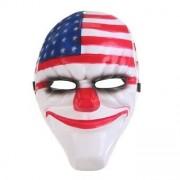 USA skrämmande clown mask