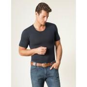 Walbusch Modal-Shirt Rundhals 2er-Pack Blau 5