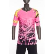 Női MTB mez Silvini Stabina WD1432 pink-neon