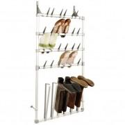 1 Schoenenrek en laarzenrek voor deur en wand