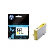 HP Cartucho de tinta Original HP 364 Amarillo para HP DeskJet, HP OfficeJet y HP PhotoSmart