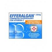 Bristol-Myers Squibb Srl Efferalgan Paracetamolo 20 Compresse Effervescenti 330mg+200mg