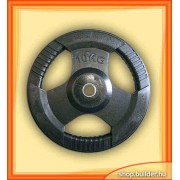 Rubber plate with grip 50mm (10 kg)