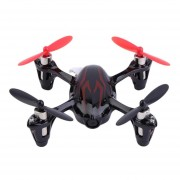 Hubsan X4 H107C 2.4GHz 4-Channel RC Quadcopter With HD 2.0MP Camera (Negro + Red)
