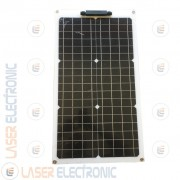 Pannello Solare Fotovoltaico 30W 12V Flessibile Monocristallino Camper Barca