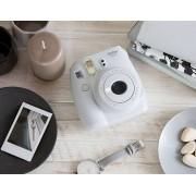 Fujifilm Instax Mini 9 Smoky White + 10 Pose + Custodia - Gar. Uff.