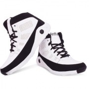 Butchi Lace-up Synthetic Air Mix Boots For Men