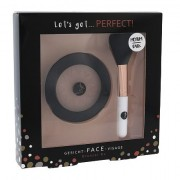 2K Let´s Get Perfect! tonalità Medium/Dark confezione regalo bronzer 10 g + pennello cosmetico 1 pz donna