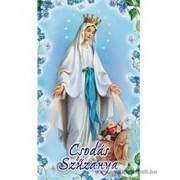 Csodás Szűzany imakép