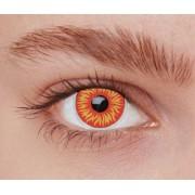 Vegaoo Kontaktlinser fantasi UV eld vuxen One-size