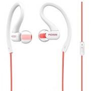 Koss KSC32i C Sport Clip Headphones Coral