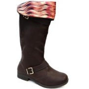 BOTA MONTARIA OVER KNEE W6094 PINK CATS (10) - CAFE