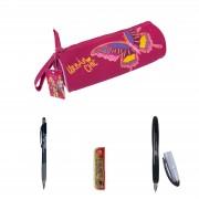 Pachet scoala DP Collection Avantaj Penar borseta 1 Uban Chic Butterfly instrumente de scris