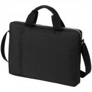 Geanta de conferinte si Laptop, Everestus, TA, 14 inch, 300D poliester, negru, saculet de calatorie si eticheta bagaj incluse