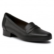 Ниски обувки CLARKS - Juliet Coast 261531884 Black Leather