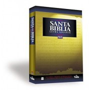 NVI Santa Biblia Letra Gigante = Giant Print Bible-NIV, Paperback/Zondervan