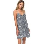 Roxy Rochia femeii Good Surf Only Dress Marshmallow Tribal Vibes Stripe ERJX603105-WBT4 S