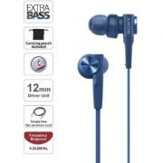 Sony MDR-XB55AP HEADPHONE BLUE