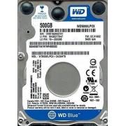 HDD Laptop Drive WD WD5000LPCX_3M (500 GB ; 2.5 Inch; SATA III; 16 MB; 5400 rpm)