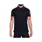 Orcbite Svart/Röd GG - Polo Shirt