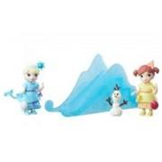 Set Figurine Hasbro Disney Princess Small Doll Little Kingdom Disney Frozen Snow Sisters Elsa & Anna Playset