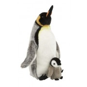 Ravensden Suma Collection Cuddly Plush King Penguin with Chick Soft Toy 35Cm