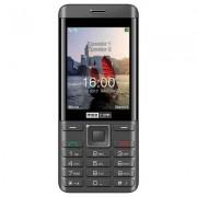MAXCOM Telefon Classic MM236 Czarno-srebrny