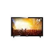 TV LED 24 HD AOC LE24D1461 com Conversor Digital Integrado, Entradas HDMI e Entrada USB