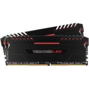 Memorija DIMM DDR4 2x8GB 2666MHz Corsair CL16 LED, CMU16GX4M2A2666C16R