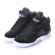ナイキ NIKE kinetics AIR JORDAN 5 RETRO GG (BLACK) レディース