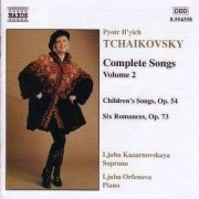 P.I. Tchaikovsky - Songs Vol.2 (0636943435823) (1 CD)