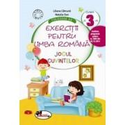 Culegere de exercitii pentru limba romana Jocul cuvintelor, clasa a III-a, ed. 2015