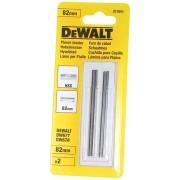 Set 2 cutite pentru rindea electrica 82 mm, DeWalt DT3905