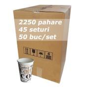 Pahar carton 7oz CC SBP bax 2250buc