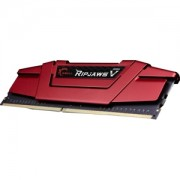 Memorie G.Skill Ripjaws V Blazing Red 16GB (1x16GB) DDR4 3000MHz CL15 1.35V Intel Z170 Ready XMP 2.0, F4-3000C15S-16GVR