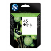 HP Inkjet Crtg 45A Black Large EUR for the DeskJet 720C, 820Cxi, 850C, 870Cxi, 890C, 1100C and 1600C. Also for DesignJet 700, 750C, 755CM and OfficeJet 1150C. Available to Europe only.