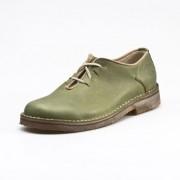 Lage schoen, grasgroen 42