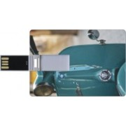 Printland Credit Card Shaped PC83038 8 GB Pen Drive(Multicolor)