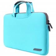 15,6 Pulgadas Portatil De Mano Bolsa Permeable Al Aire Manga Para Laptops, Tamaño: 41.5x30.0x3.5cm (verde)