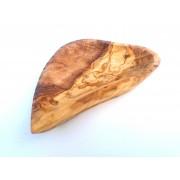 Servírovací miska ve tvaru srdce z olivového dřeva 17cm