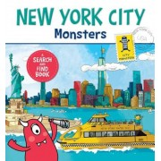 New York City Monsters: A Search-And-Find Book, Hardcover