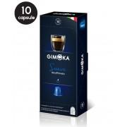 10 Capsule Gimoka Espresso Soave - Compatibile Nespresso