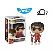 Harry Potter Quidditch Funko Pop Pelicula Escoba Snitch Gold