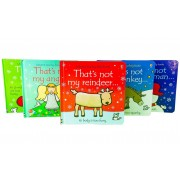 Usborne Thats Not My Christmas Set 5 Books - Ages 0-5 - Board Books