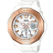 Baby-G Analog-Digital White Dial Girls Watch-BGA-220G-7ADR (BX060)