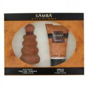 Perfumers Workshop Samba Nova Eau De Toilette Spray + Shower Gel Gift Set Men's Fragrance 457021