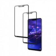 Set 2 folii protectie sticla securizata fullsize pentru Huawei Mate 20 Lite negru