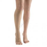 Dr. Tex-Stand térdharisnya AD, II. kompresszió, 26-32 Hgmm, nyitott orr, 1 pár, drapp, L