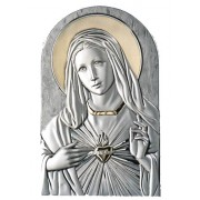 Strieborný obraz Panna Mária pozláteny D05.2599.57OL